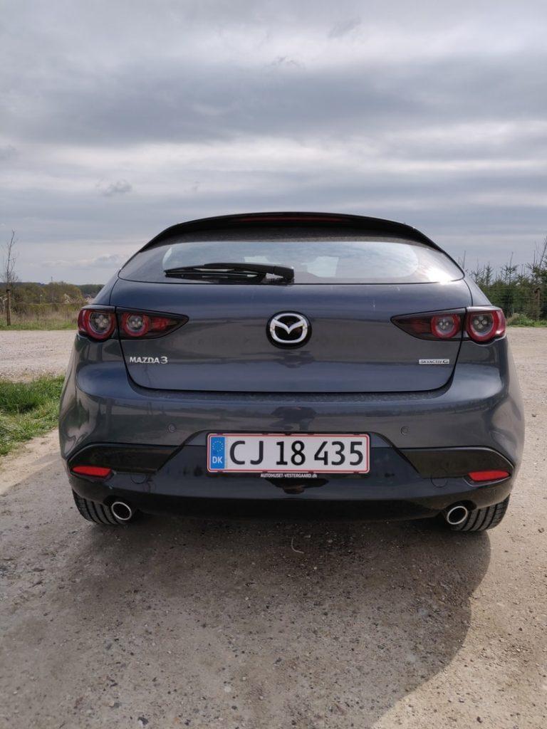 Ny Mazda 3 bagende