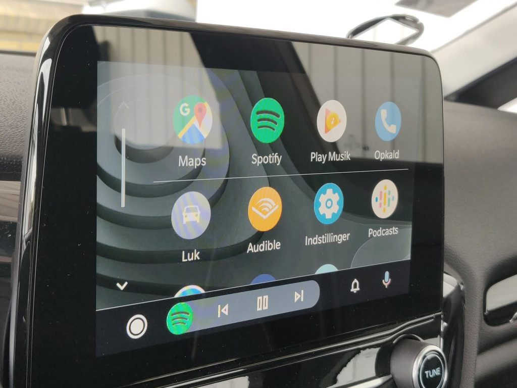 Den nye app liste for Android Auto