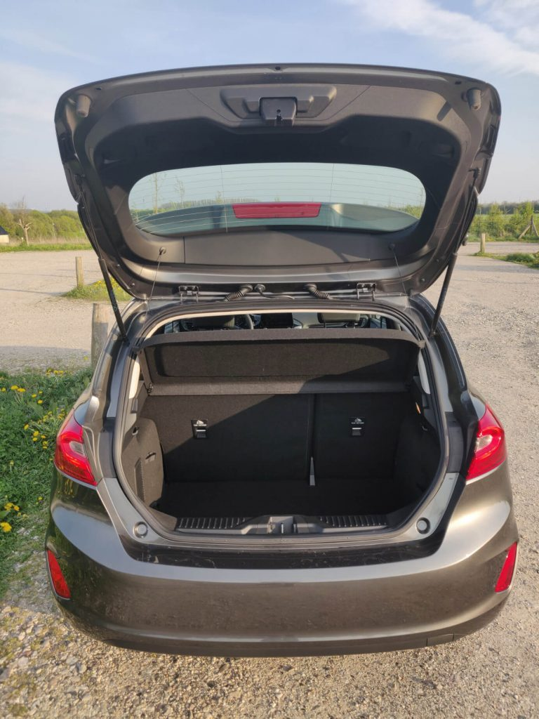 Ford Fiesta Bagagerum med 303 liter