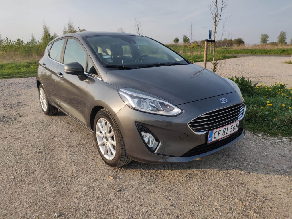 Ford Fiesta front 2019