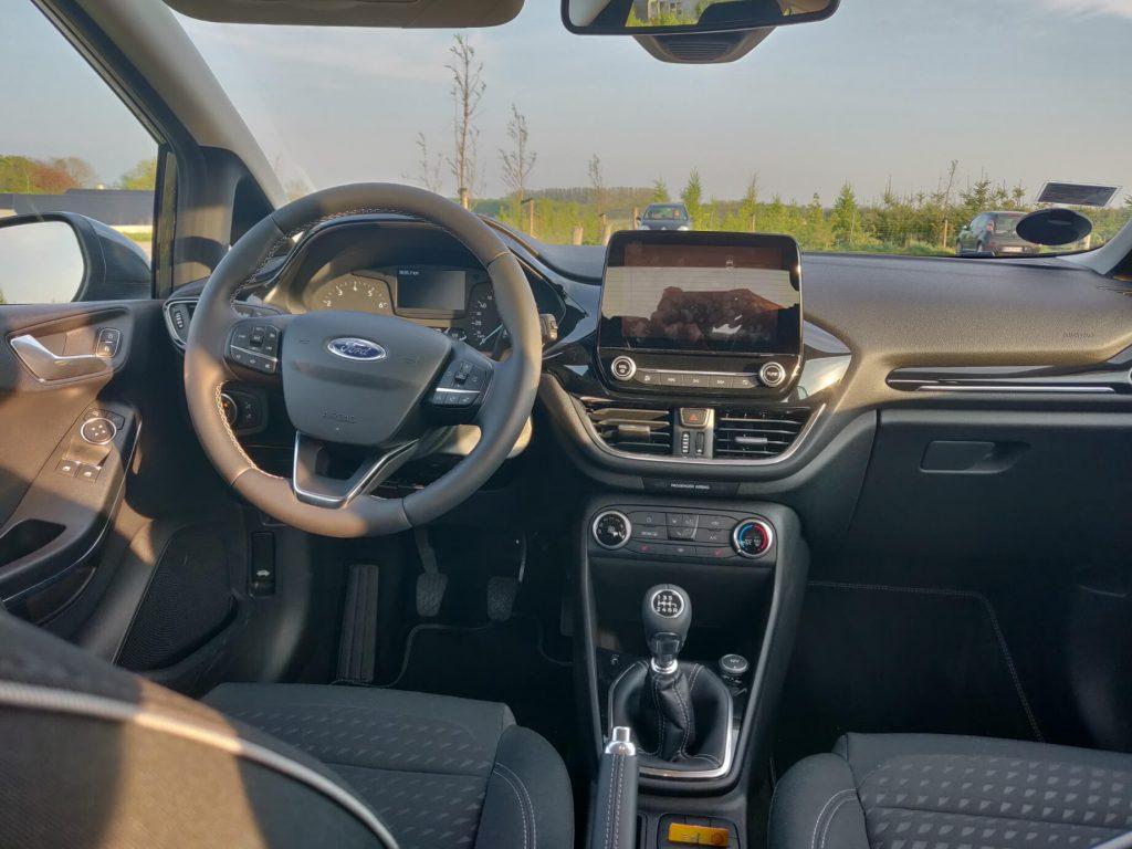 Ford Fiesta Interiør med Android Auto 2019