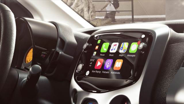 Toyota Aygo 2018/2019 Apple Carplay