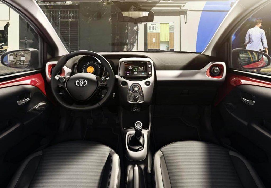 Toyota Aygo 2018/2019 interiør