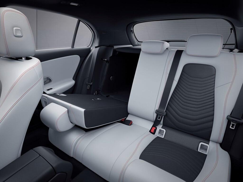 Mercedes A-klasse bagsæder