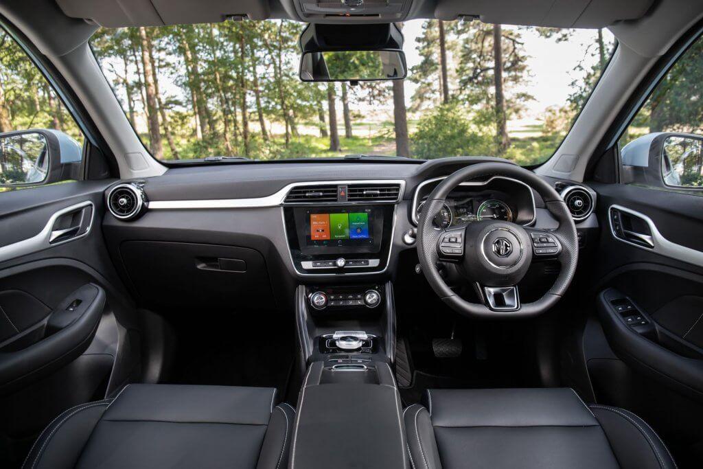 MG ZS EV 2020 kabine