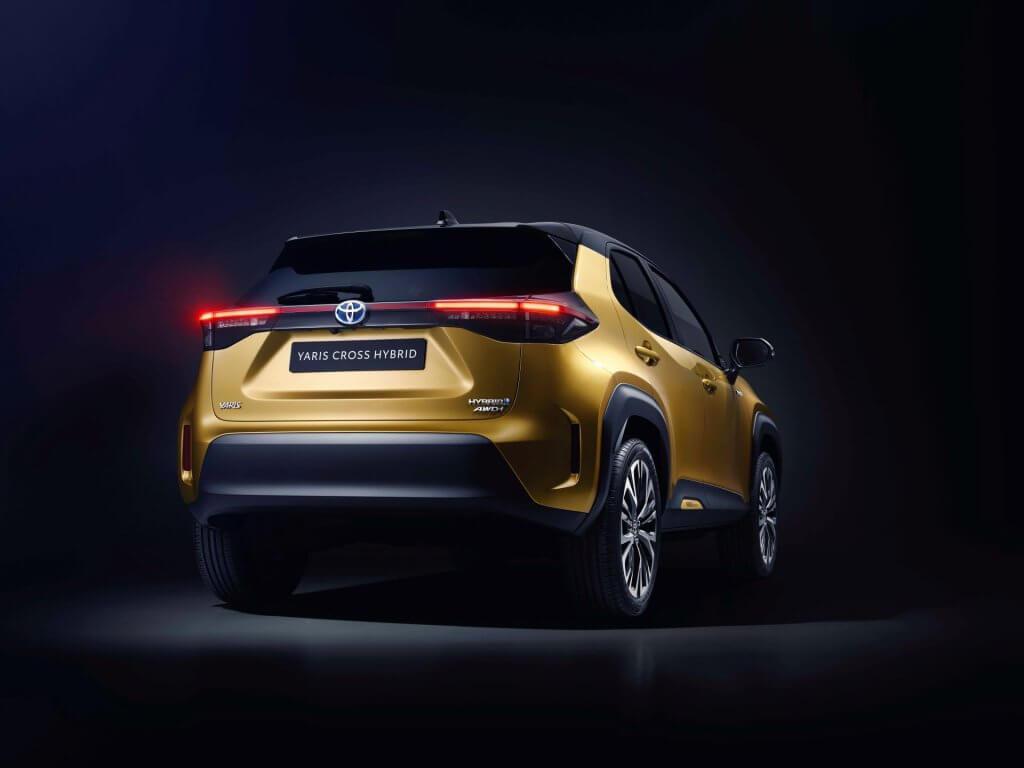 Toyota Yaris Cross 2021 bagende