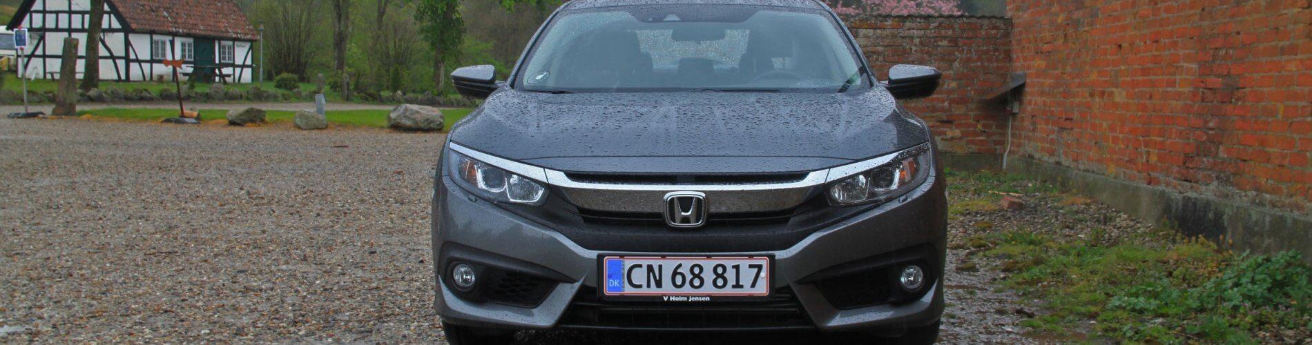 Honda Civic 4 dørs 2020 anmeldelse