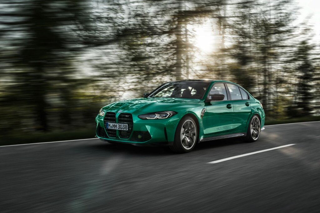 BMW M3 Sedan front