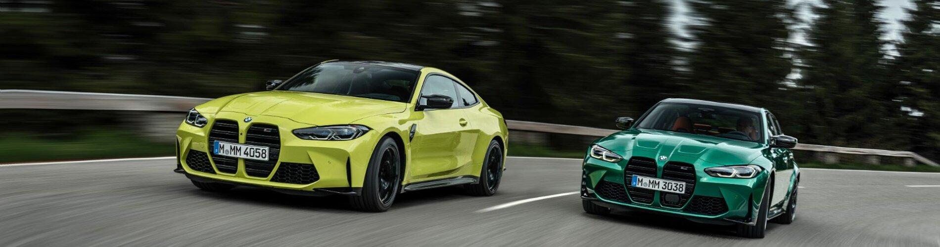 BMW M3 og M4 2021