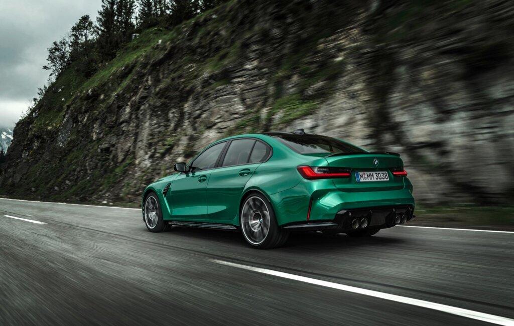 BMW M3 Competition Sedan bagende