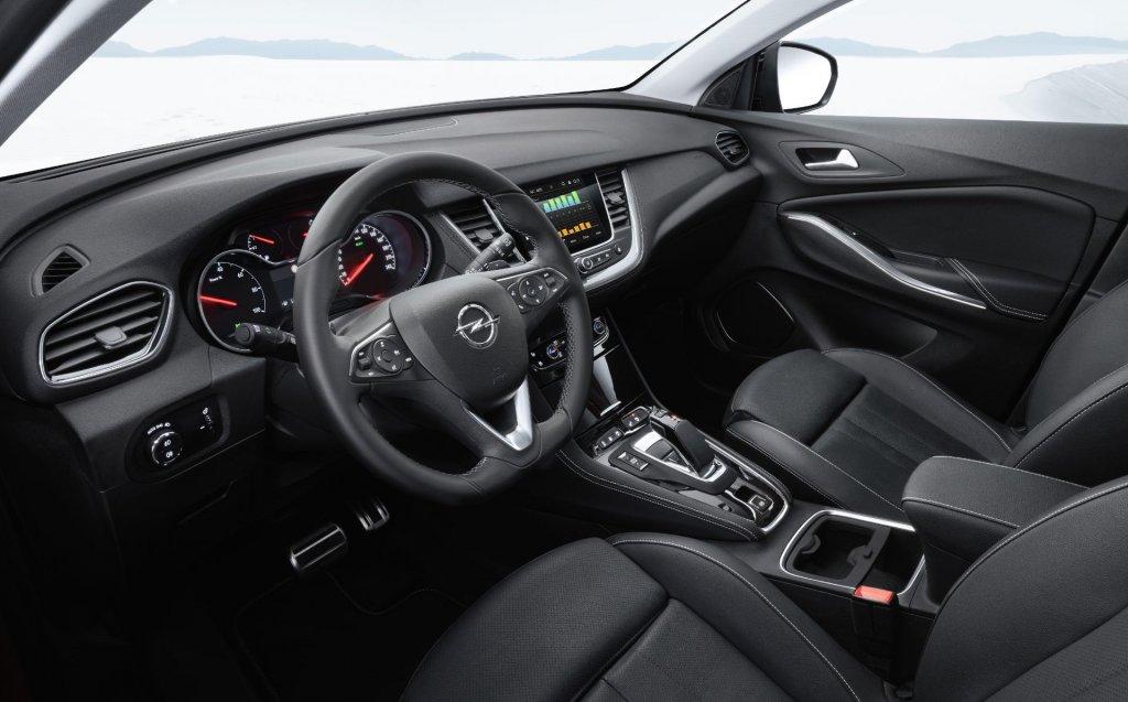 Opel Grandland X 2020 Kabine