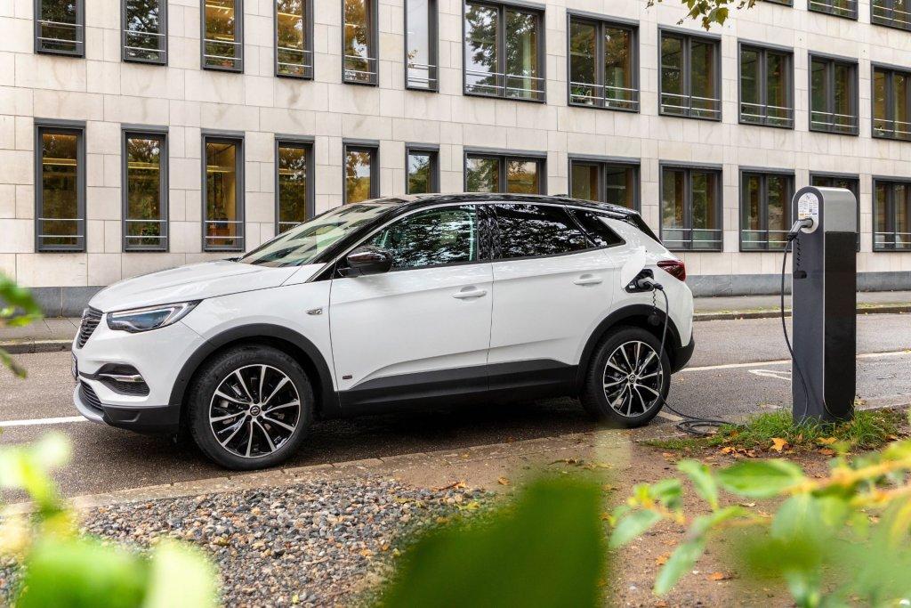 Opel Grandland X PHEV 2020 opladning