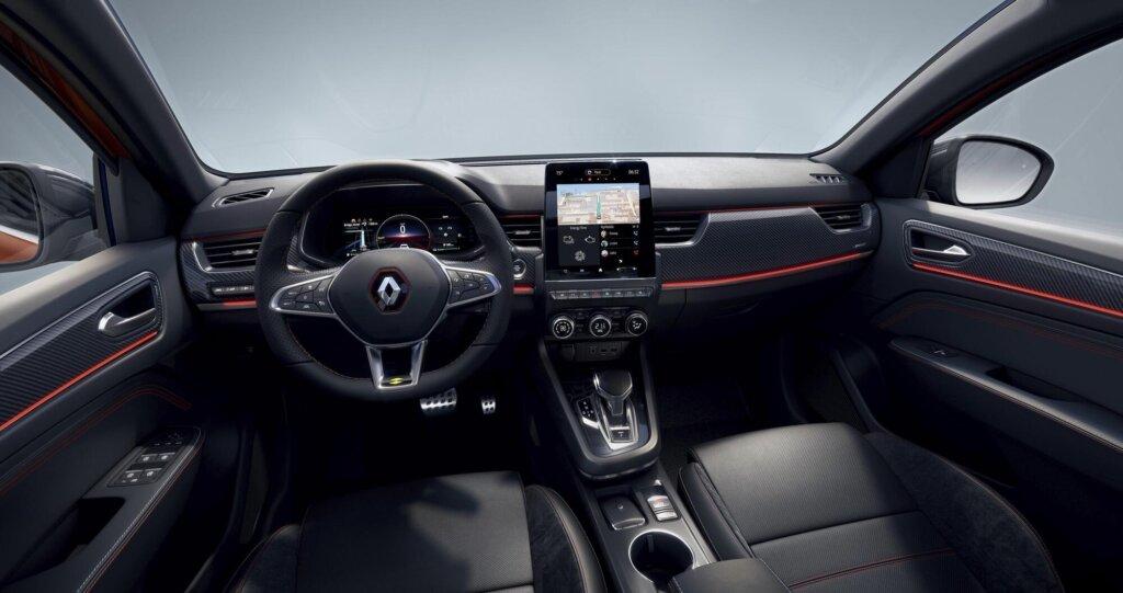 Renault Arkana kabine